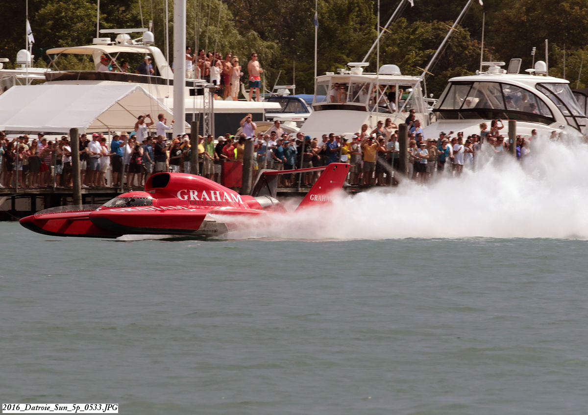 Unlimited hydroplane racing